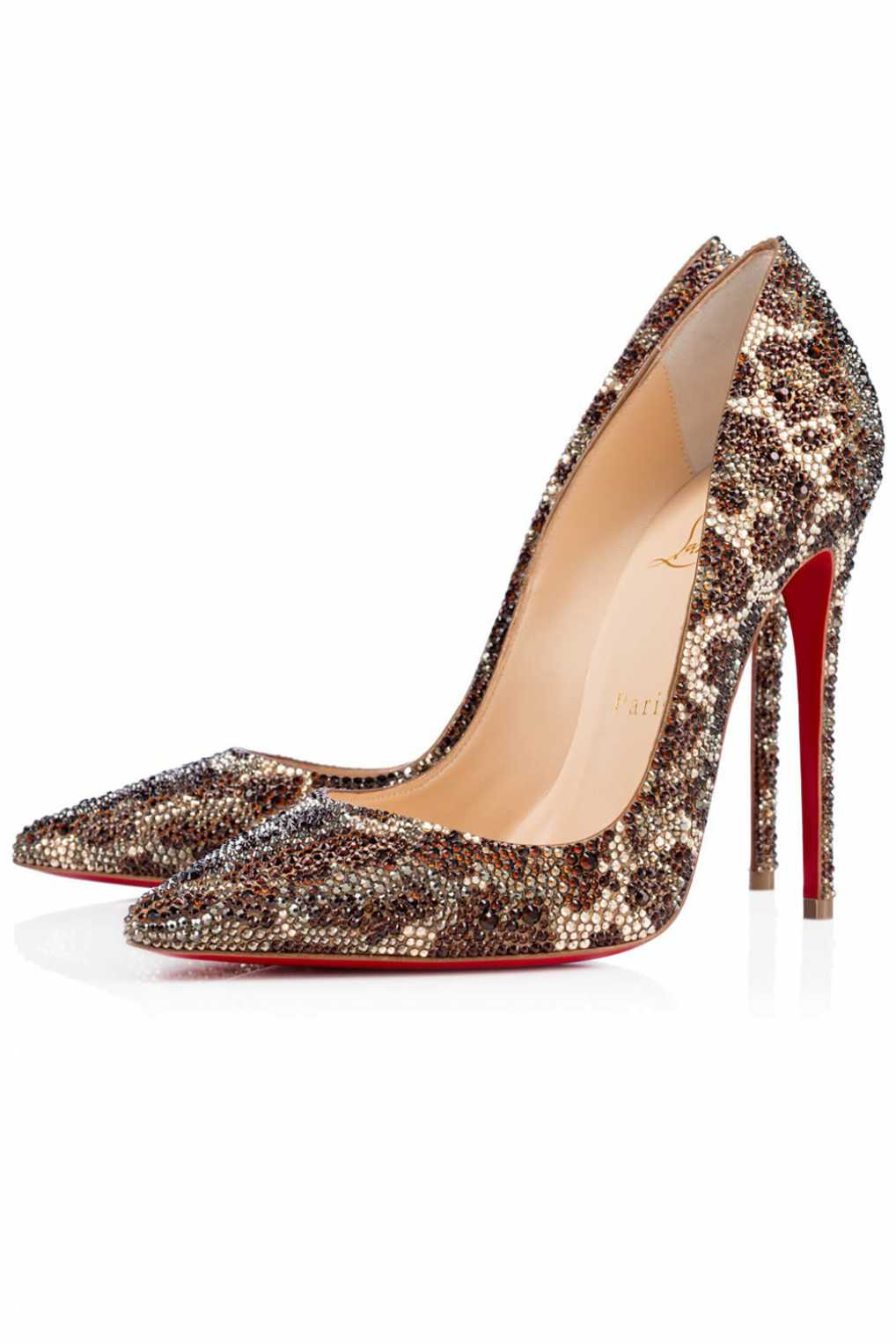 Christian Louboutin 00008 So Kate Strass Red Sole Pump